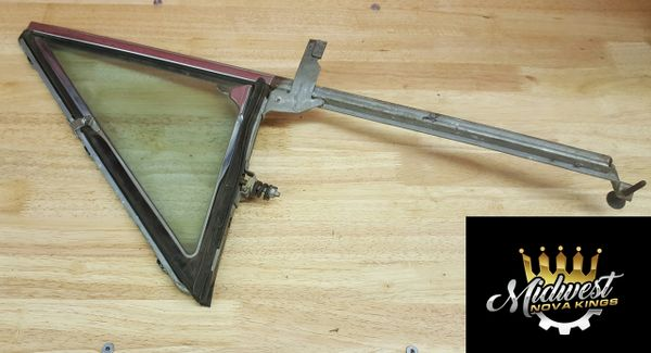 1962 - 1967 Chevy II Vent Window Tinted, Hardtop/Convertible, Driver