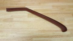 1968 - 1972 Nova Quarter Glass Molding Trim, Steel, Driver Side, GM Original
