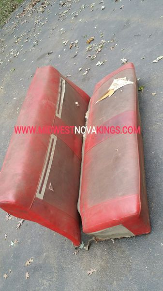 1962 - 1965 Chevy II / Nova Hardtop Rear Seat Call for pricing...