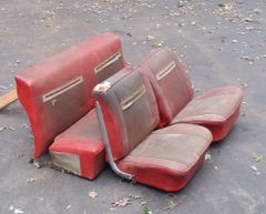 1962 - 1965 Chevy II / Nova Hardtop / Convertible Bucket seat Front Call for pricing...