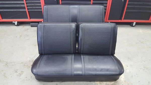 1967 Chevy II Bench seat and Rear Seat Hardtop, Original Covers