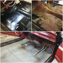 1962-74 Chevy II / Nova Floor Pan Full, R&I Labor Only