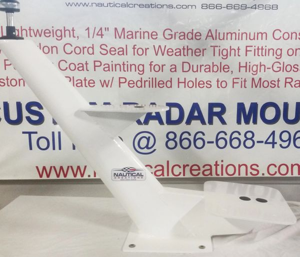 "22"" TAPERED RADAR MOUNT"