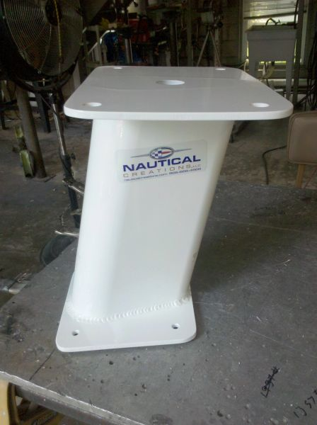 "12"" TALL RADAR MOUNT"