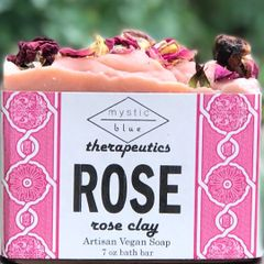 Rose Artisan Vegan Soap | 7 oz bar