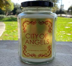 City of Angels soy wax candle