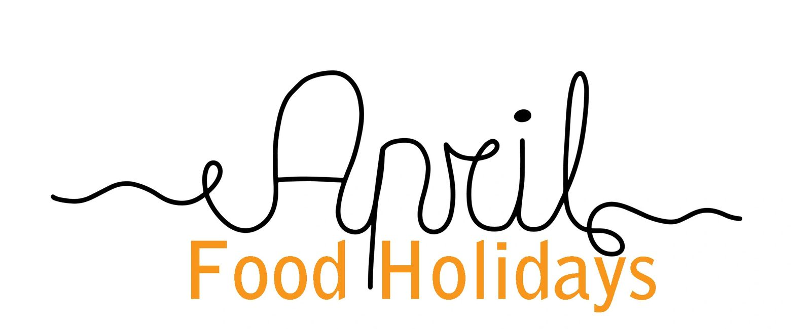 April Food Logo