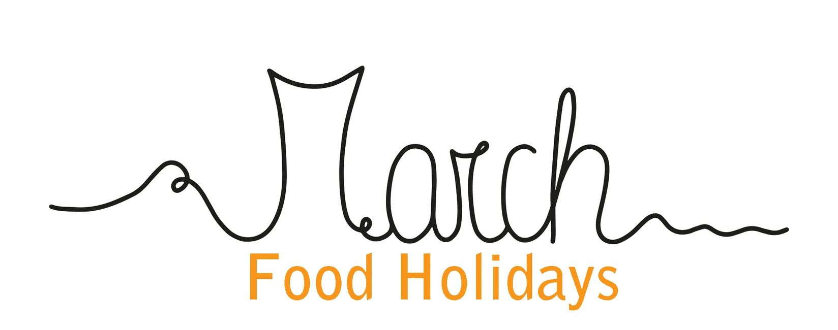 March Food Holidays Logo