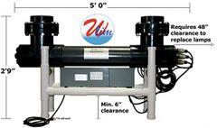 Amalgam Series UVP Sch 80 4-Lamps 1200 W High Output