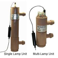"Sky Hawk H/O UV Sterilizer Unit Model:5 | 3 Lamps 6"" Sch. 40"