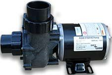 "Aqua Star High Speed Pump 1/2 HP OD 2"" Inlet & Outlet"