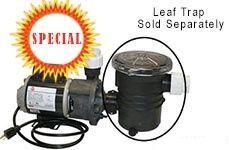 "Aqua Star Pump 1/15 HP OD 1-1/2"" Inlet & Outlet"