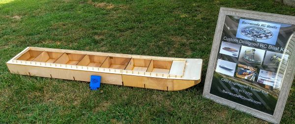 """75"""" Modular Rake Barge"""