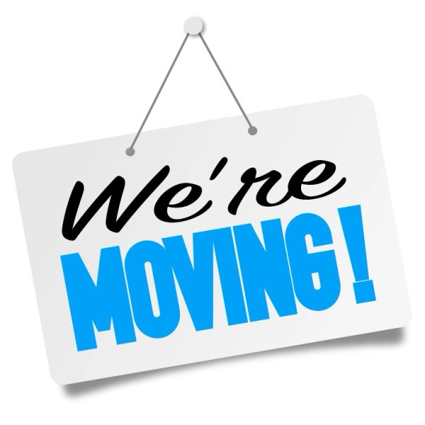 We're Moving! Be Back Soon!