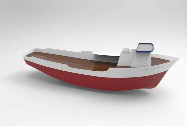 """PRE-ORDER 1/32 47"""" Alaskan Crab Boat 2"""