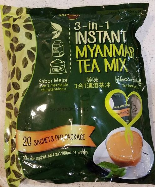 Ideal Tastes 3 in 1 Instant Tea Mix 4 Bags