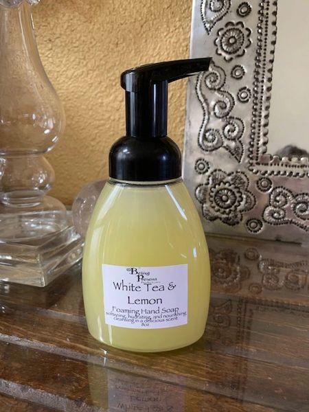 White Tea & Lemon Foaming Hand Soap