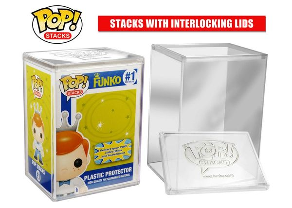 FUNKO POP! Stacks: Premium POP Protector HIGH QUALITY POLY-CARBONATE MATERIAL