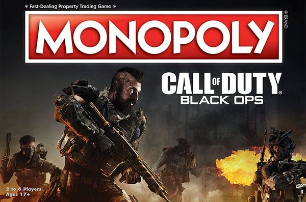 Monopoly: Black Ops Edition Board Game