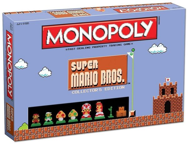 Monopoly: Super Mario Bros. Edition Board Game