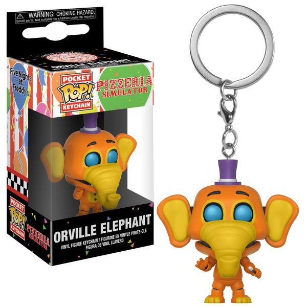 POCKET POP! KEYCHAIN: PIZZERIA SIMULATOR - ORVILLE ELEPHANT