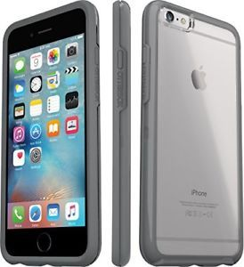 iPhone 6+/6s+ OTTER BOX Case - Commuter Series - Clear Gray