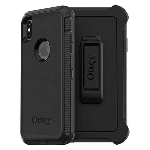 iPhone XS Max OTTER BOX Case - Defender Series - Black