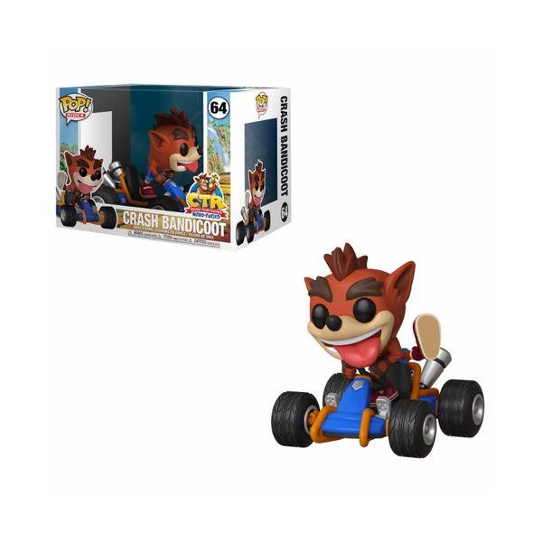 NEW Funko POP! Crash Bandicoot Rides #64