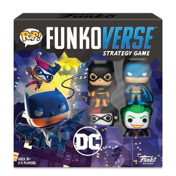 FUNKO POP! FUNKOVERSE STRATEGY GAME DC COMICS #100 BASE SET