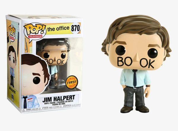 FUNKO POP! TELEVISION: THE OFFICE - JIM HALPERT #870 CHASE EDITION