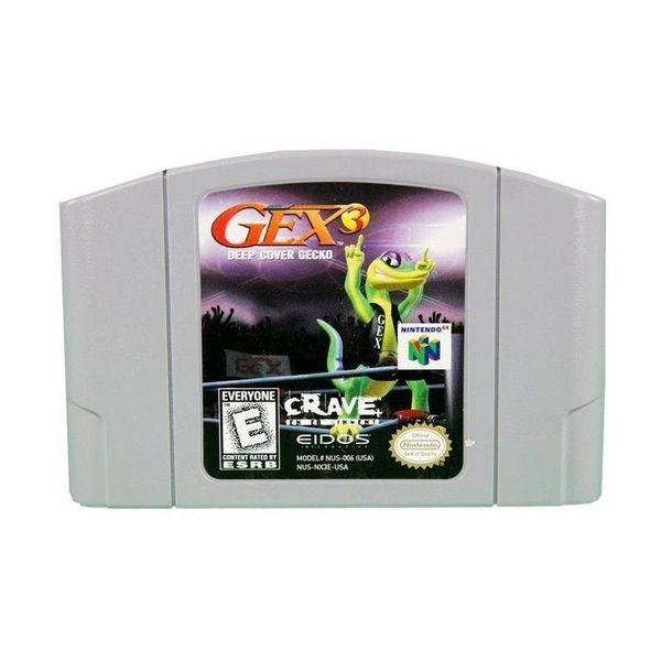 GEX 3 DEEP COVER GECKO N64