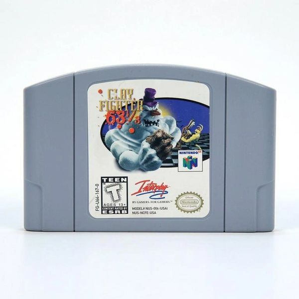 CLAY FIGHTER 63 1/2 N64