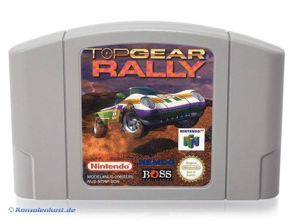 TOP GEAR RALLY 2 N64