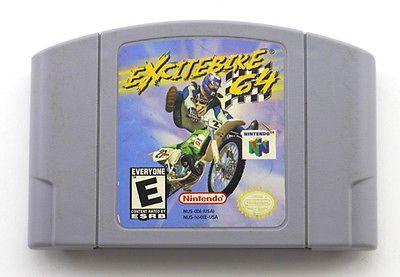 EXCITE BIKE N64