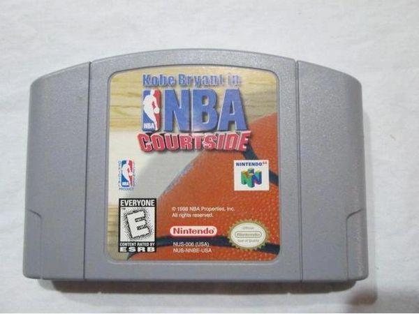 KOBE BRYANT IN NBA COURTSIDE N64