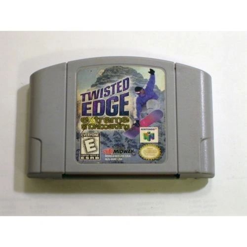 TWISTED EDGE EXTREME SNOWBOARDING N64