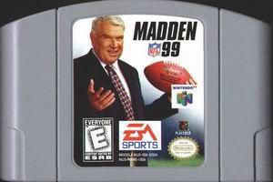 MADDEN FOOTBALL N64