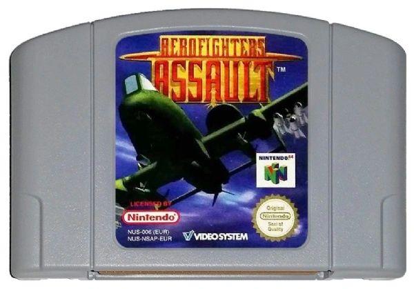AEROFIGHTERS ASSAULT N64