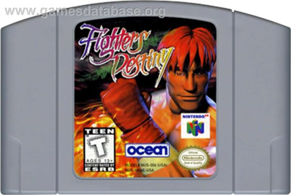 FIGHTERS DESTINY N64