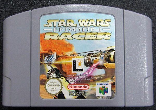 STAR WARS EPISODE 1 RACERS N64