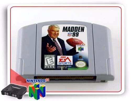 MADDEN 99 N64