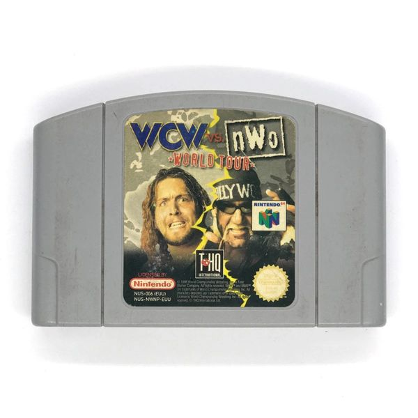 WCW vs NWO WORLD TOUR N64