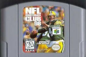 NFL QUARTERBACK CLUB 98 N64