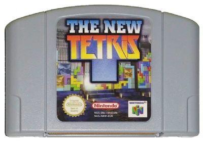 THE NEW TETRIS N64