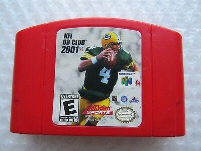 NFL QB CLUB 2001 N64