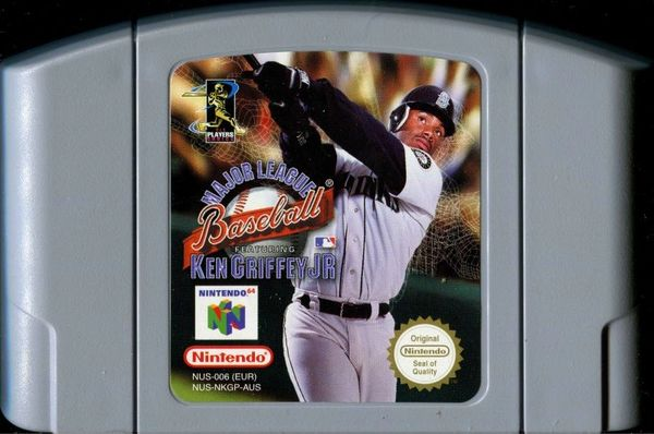 MLB FEATURING KEN GRIFFEY JR N64