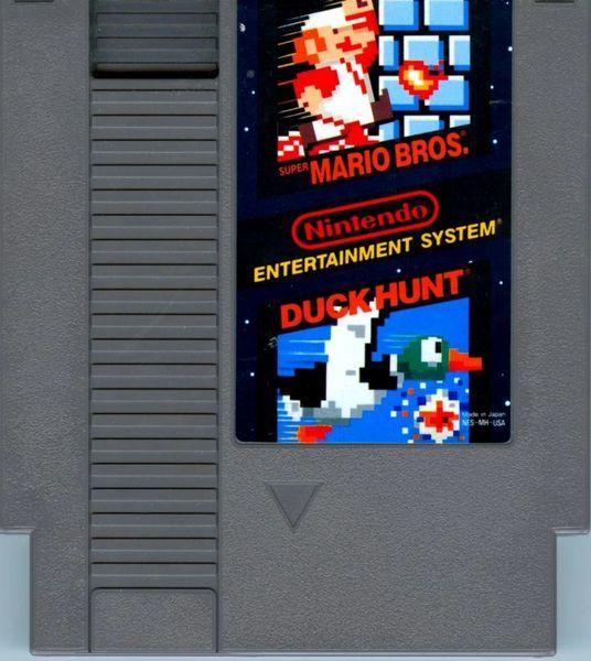 SUPER MARIO BROS. / DUCK HUNT NES COMBO