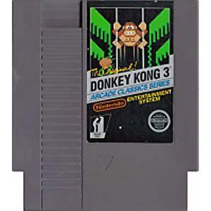 THE ORIGINAL DONKEY KONG 3 NES