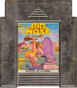 BIG NOSE THE CAVEMEN NES