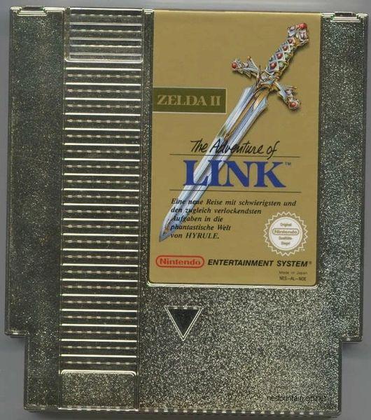 THE ADVENTURES OF LINK NES